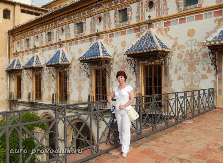 На террасе дворца Борджиа