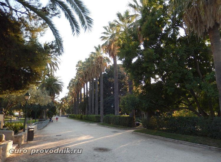 Центральная аллея Королевских садов