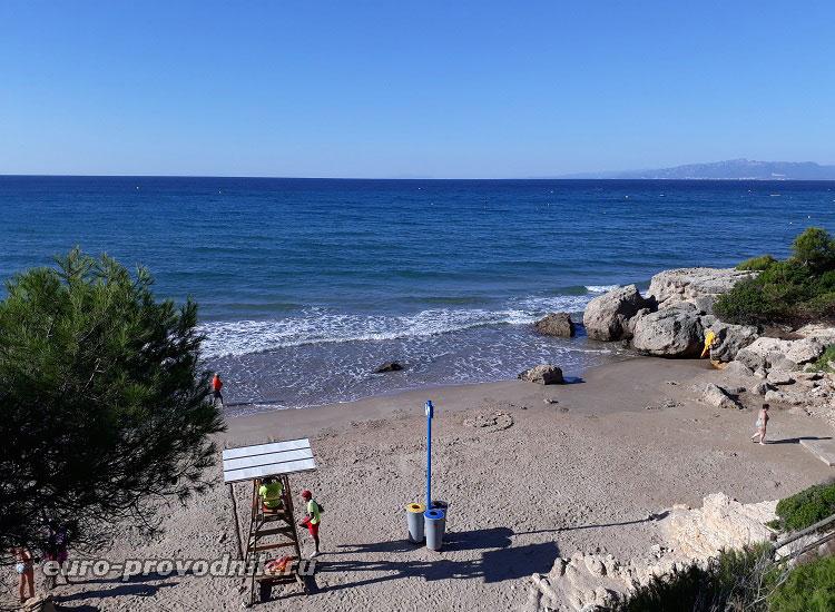 Бухты на пляже