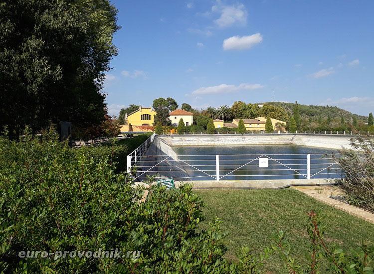 Резервуар естественно собранной воды