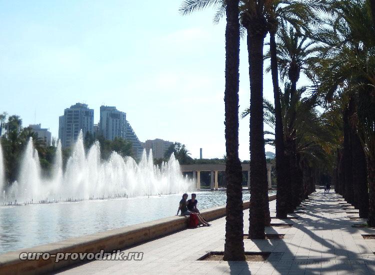 Самый большой фонтан города