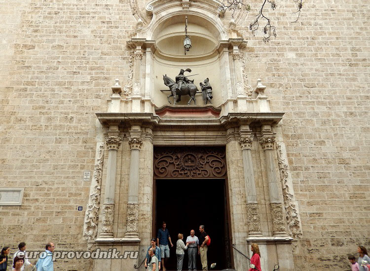Портал собора св.Мартина