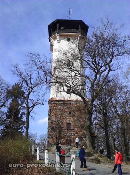 Башня Диана в Карловых Варах