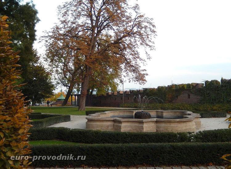 Райские сады Пражского Града