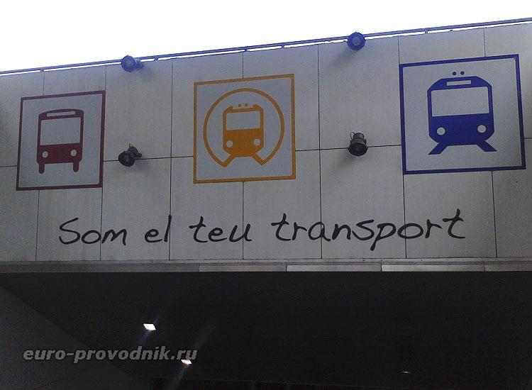 Виды транспорта на Майорке