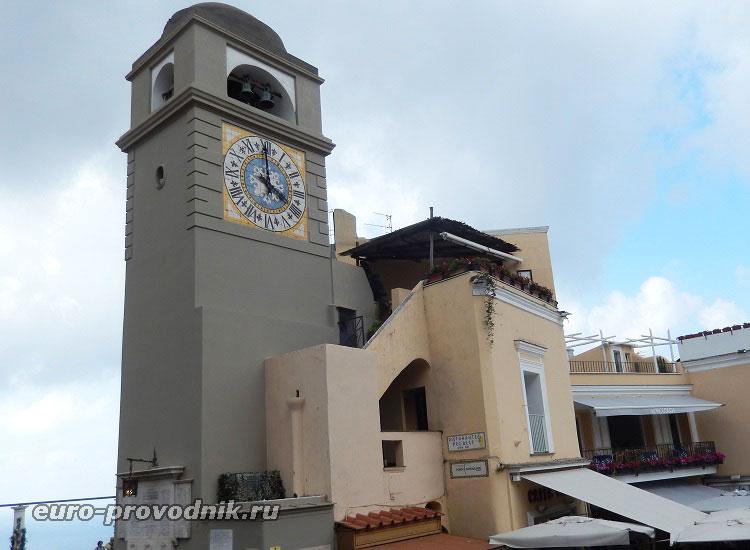 Часовая башня Пьяцетты