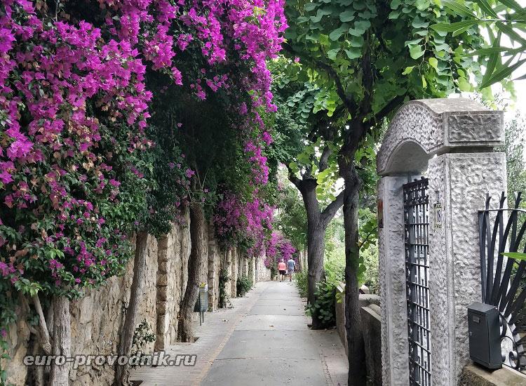 Улицы в городках острова