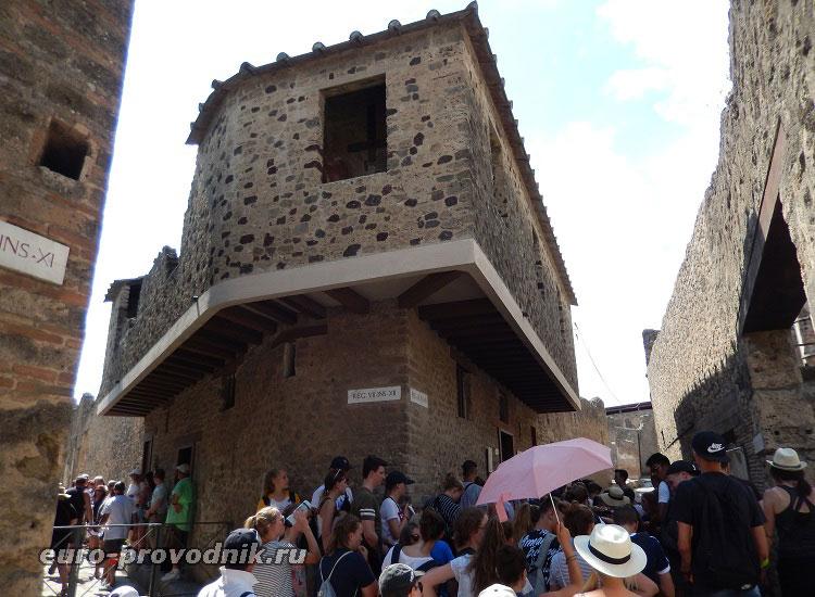 Дом терпимости в Помпеях