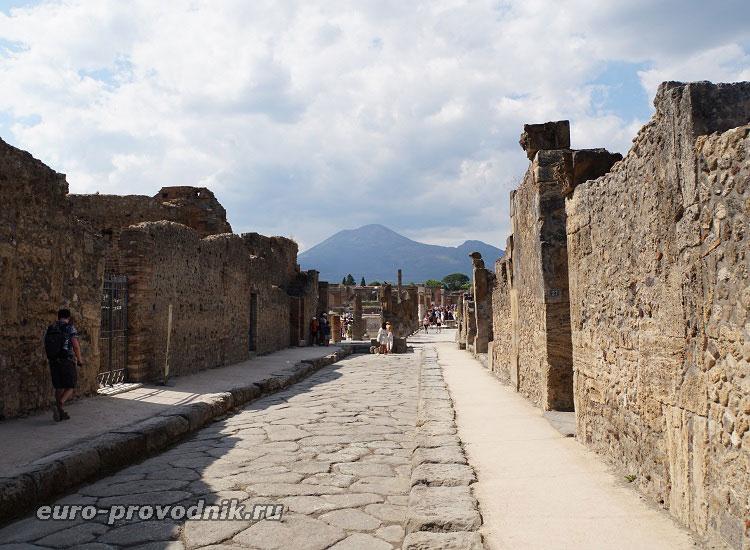 Улицы античного города