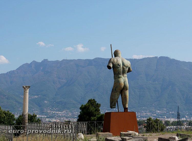 Начало маршрута в Помпеях