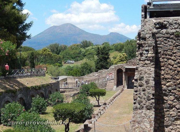 Везувий и Помпеи