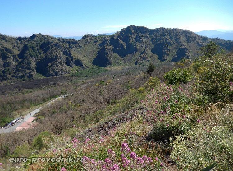 Долина Гигантов на Везувии