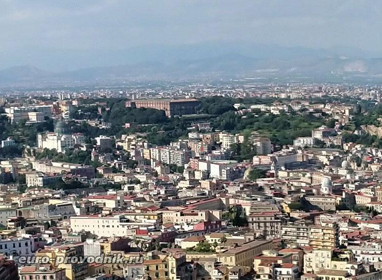 Вид на Capodimonte