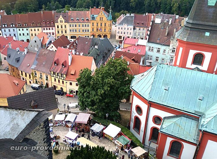 Вид с замковой башни