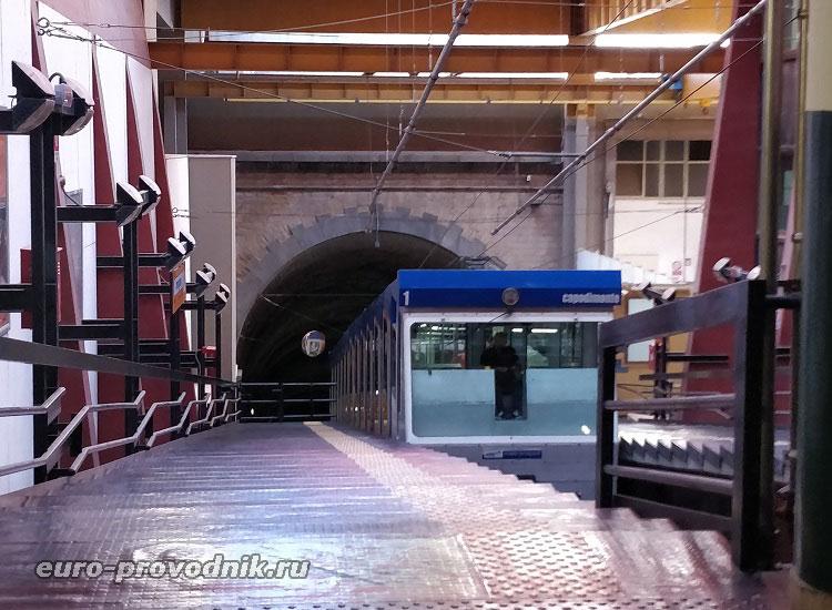 Фуникулер, станция Morghen