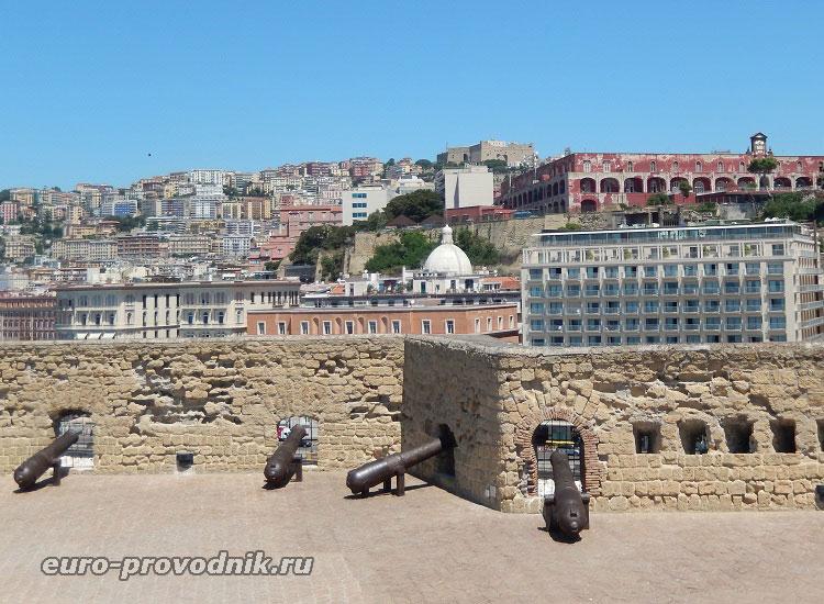 Виды со стен крепости