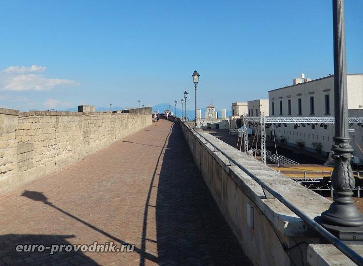 Верхние тротуары крепости