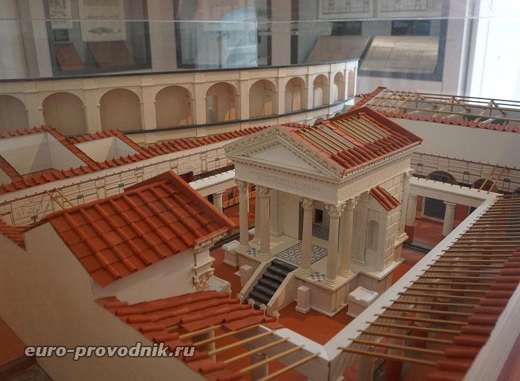 Реконструкция храма Аполлона