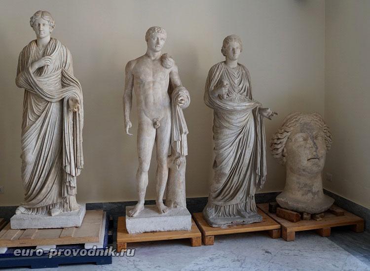 Скульптуры коллекции Фарнезе