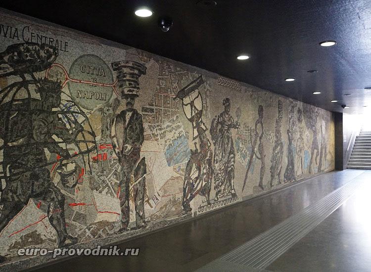 Отделка вестибюля станции Толедо