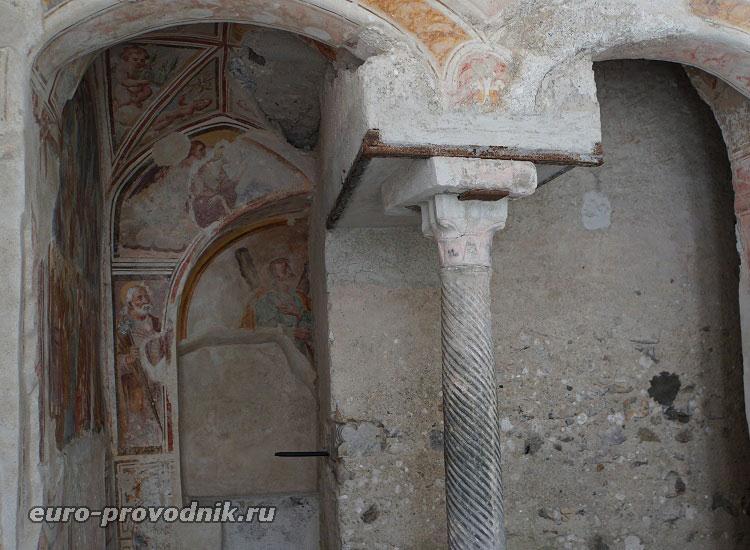 Средневековые архитектурные конструкции