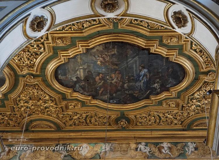 Художественная картина собора