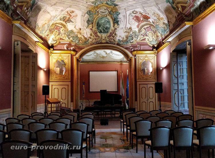 Зал культурно-исторического комплекса