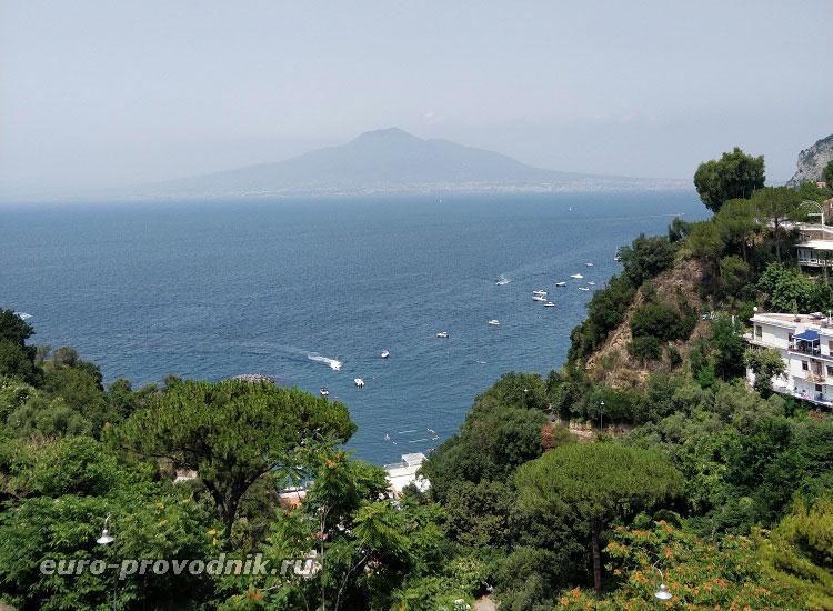 Пейзажи Неаполитанского побережья