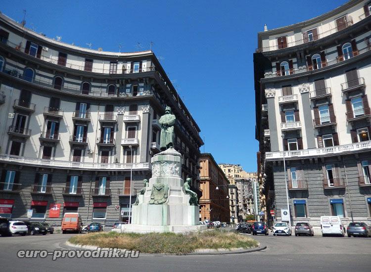 Памятник королю Италии Умберто I