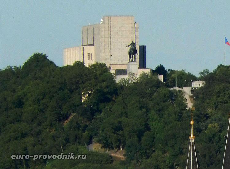 Всадник на Витковом холме в Праге
