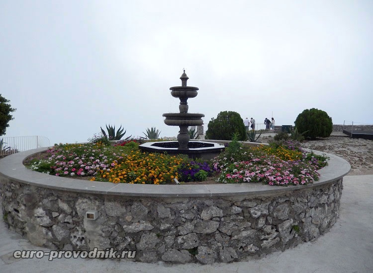 На вершине Monte Solaro