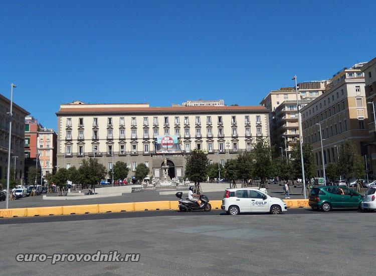 Municipio - мэрия Неаполя