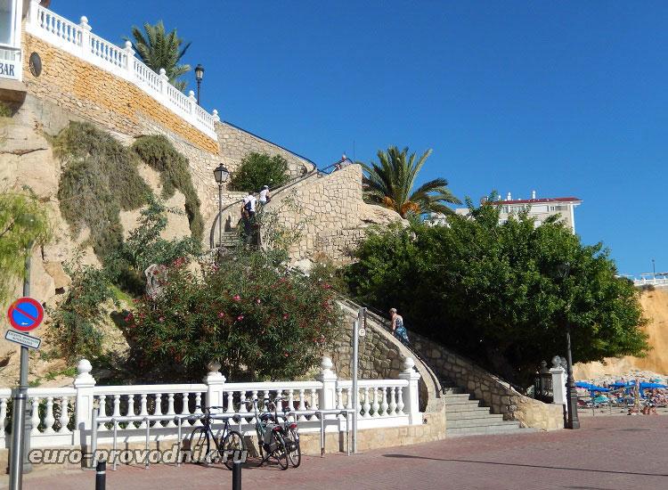 Лестница к исторической площади