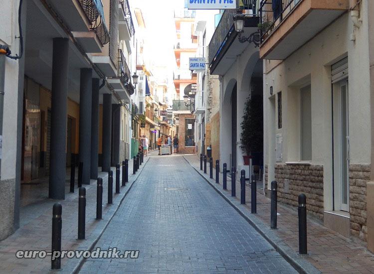Переулки исторического квартала