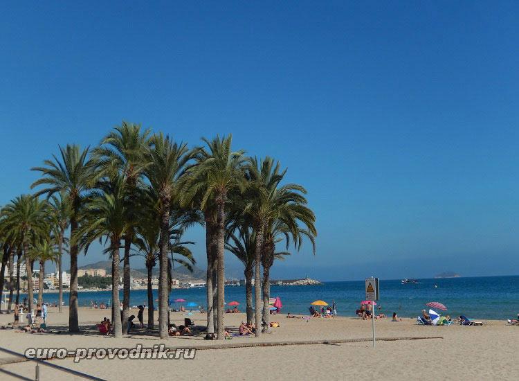 Пляж Vila Joiosa