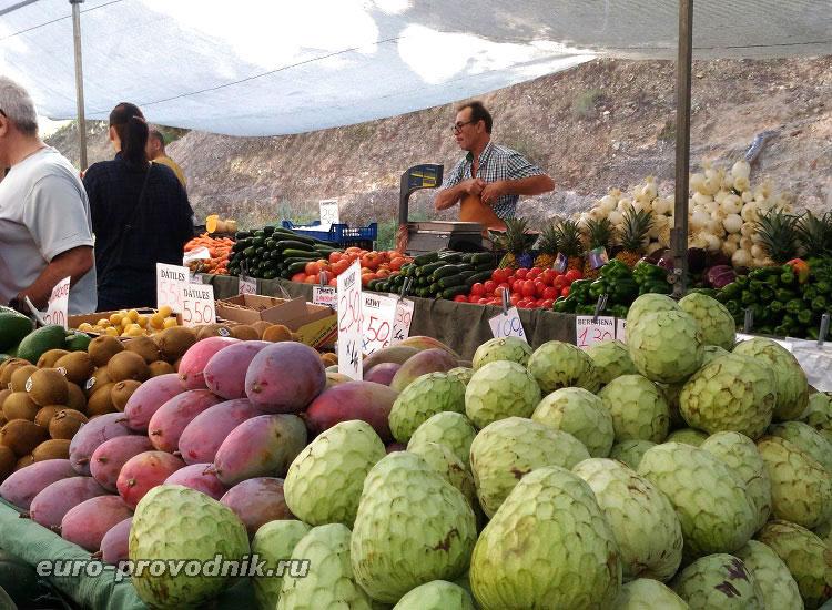 Фермерский рынок Бенидорма