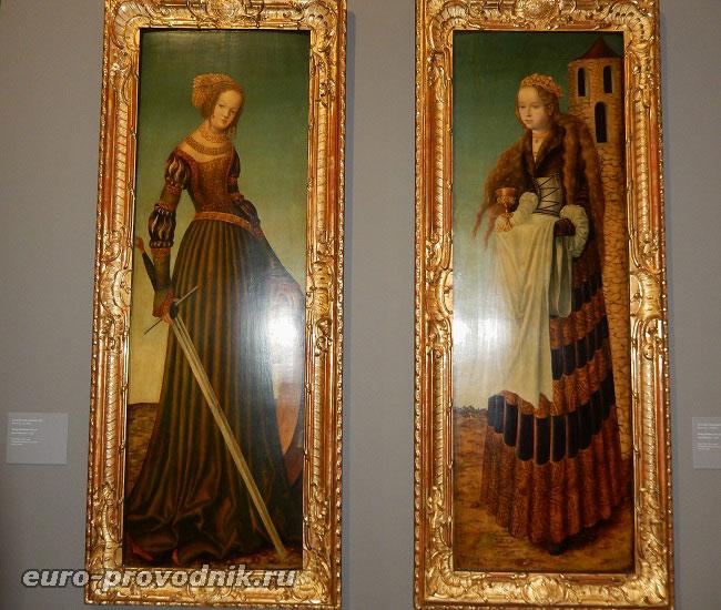 Св.Екатерина и Св.Варвара