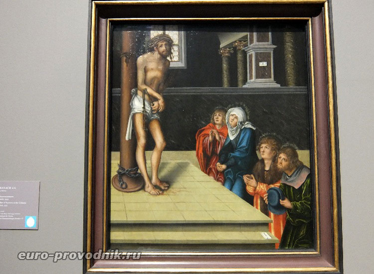 Лукас Кранач ст., Христос страдающий