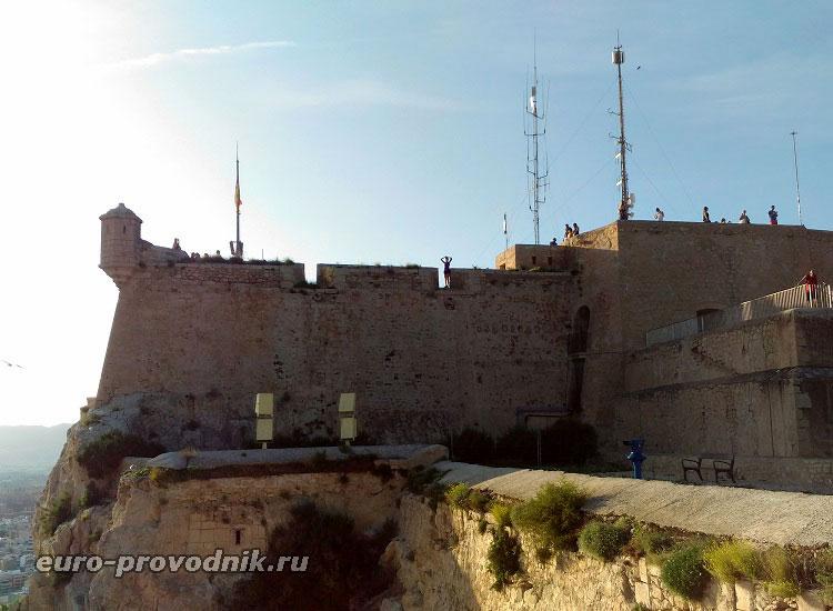 Верхняя часть крепости