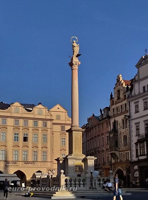 Марианская колонна в Праге
