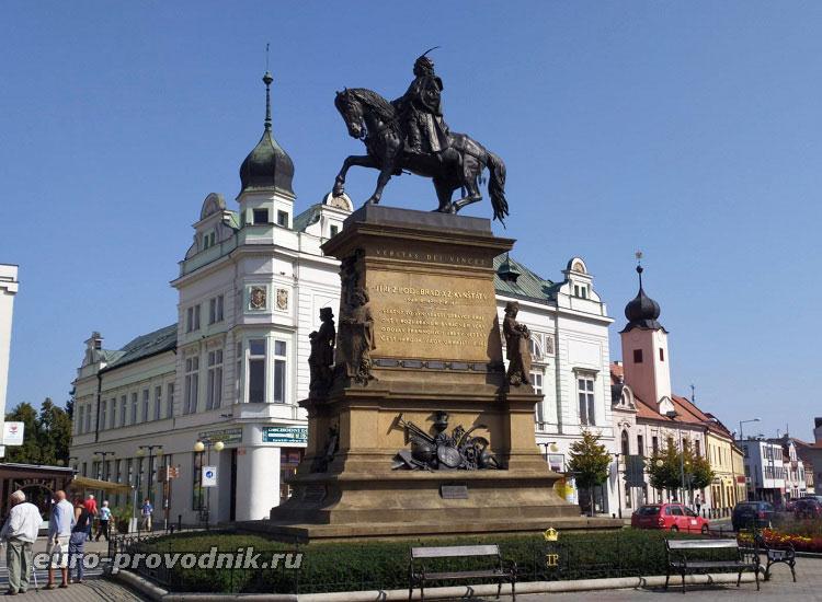 Памятник Йиржи из Подебрад