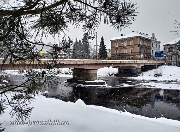 Мост через Йизеру