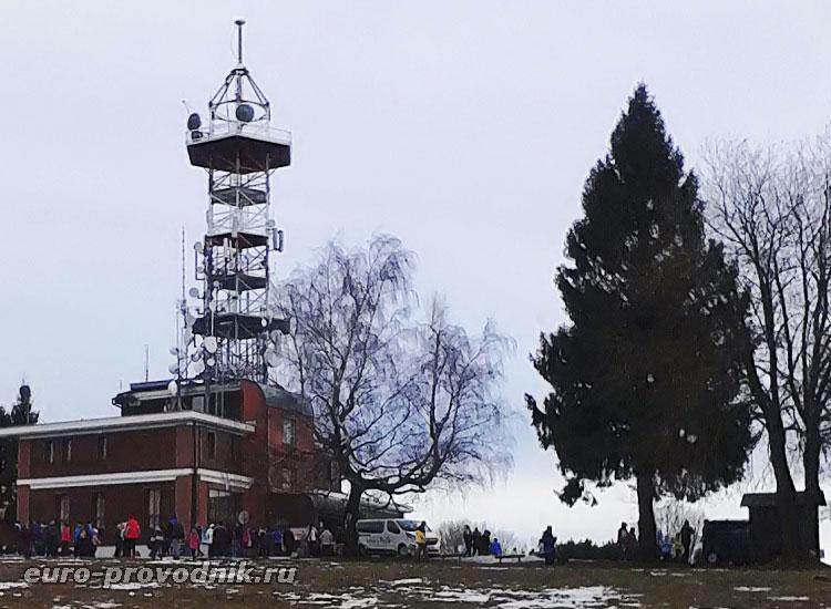 На вершине горы Козаков