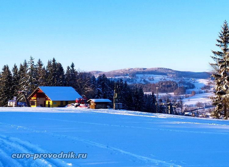Солнечная зима в Чешском Раю