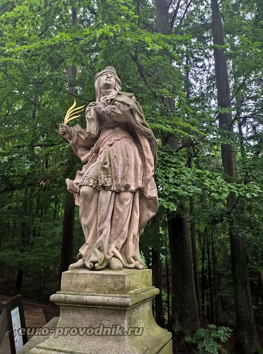 Статуи замка Вальдштейн