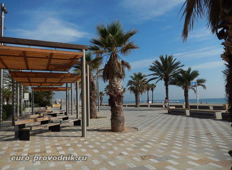 Пляжное пространство в Сан Хуан