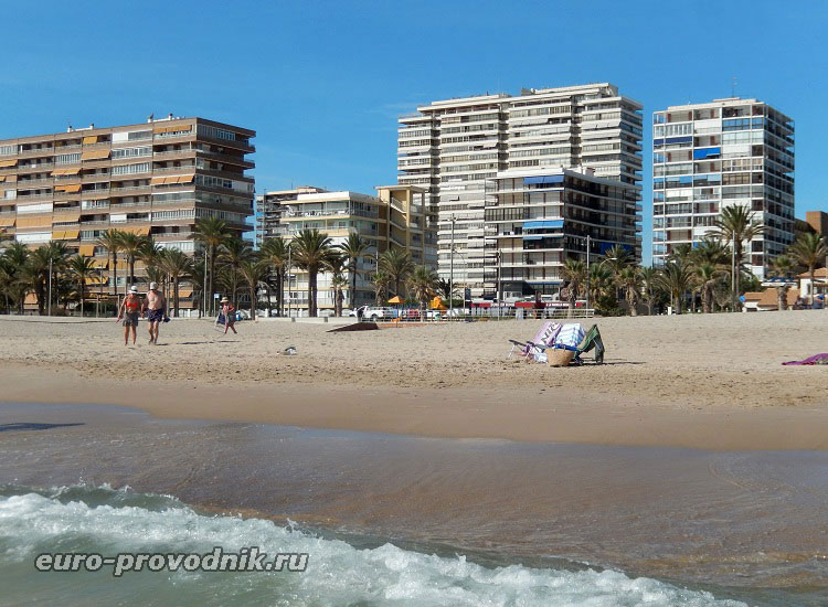 Пляж в Сан Хуан
