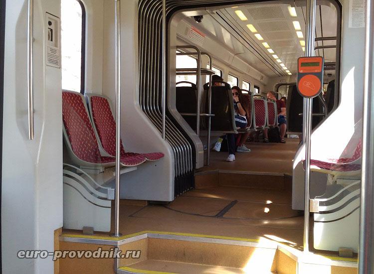 В трамвае Аликанте