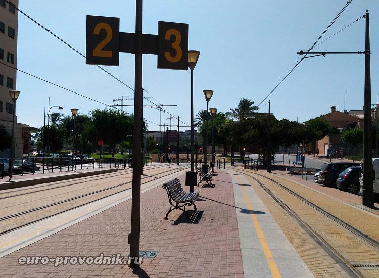 Станция в Эль Кампельо