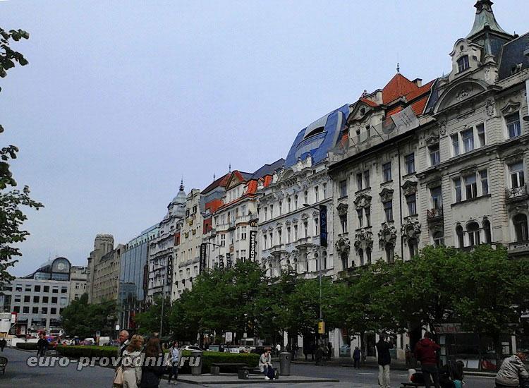 Архитектура Вацлавской площади